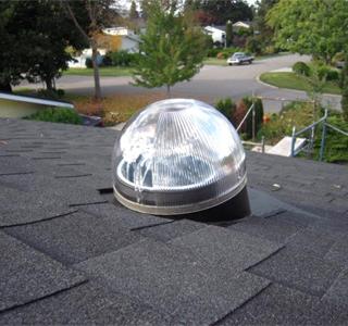 Дети солнца — световой колодец на крыше