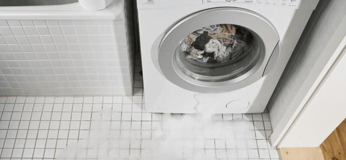 Автоматически выключить стиральную машину при протечке