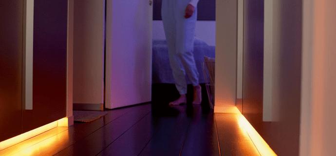 Автоматическая ночная подсветка