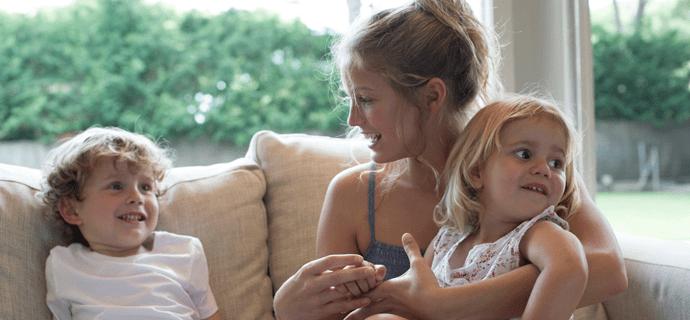 Как проще сидеть с детьми