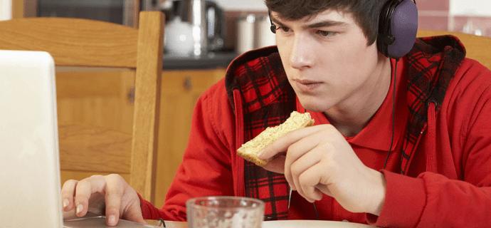 Как цветом напомнить пообедать