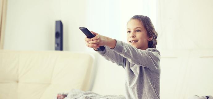 Узнать, что дети включили телевизор