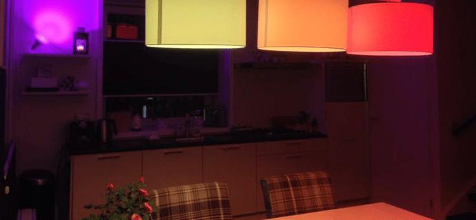 Как удаленно менять цвет лампы
