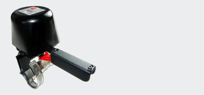 Как установить автоматический клапан на воду и газ Popp Flow Stop