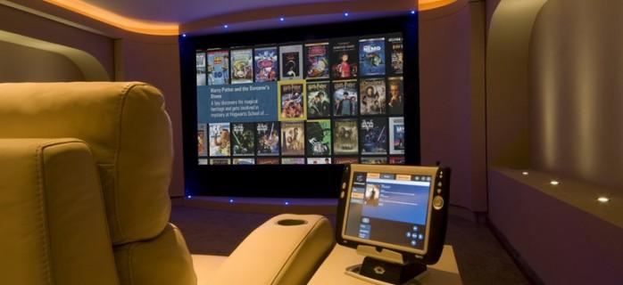 Домашний кинотеатр в умном доме
