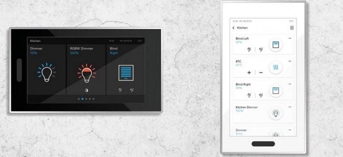Управление с одного экрана: новое оригинальное устройство KNX