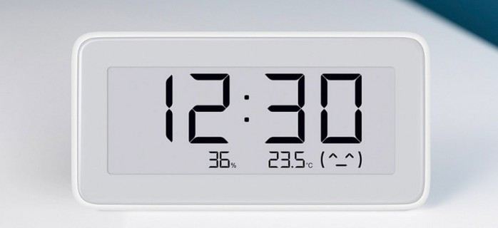 Xiaomi представила умную домашнюю метеостанцию