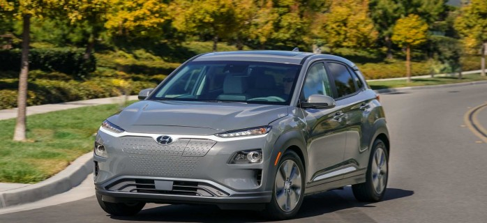 Hyndai представила обновленный электромобиль Kona Electric