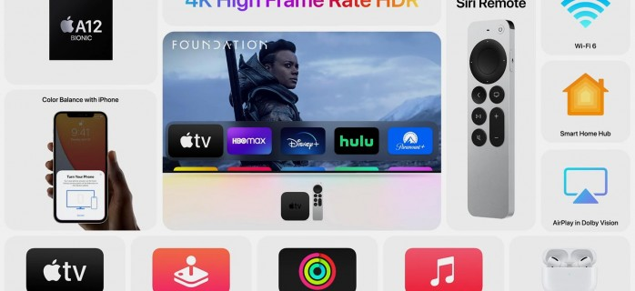 Новую Apple TV 4K можно использовать в качестве хаба умного дома