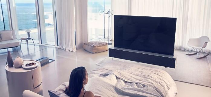 LG Signature OLED R TV: премиальный телевизор со сворачивающимся экраном